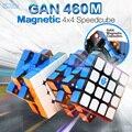 GAN 460 M cubo magnético 4x4 cubo mágico 4x4 Gan 460 M velocidad Gan460 M Cubo Magico 4*4 puzle profesional Cubo Gan sin adhesivo
