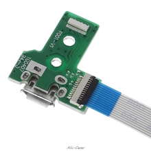 USB Charging Port Board With 12 Pin Flex Cable For JDS 030 PS4 Controller July 271 Drop ship