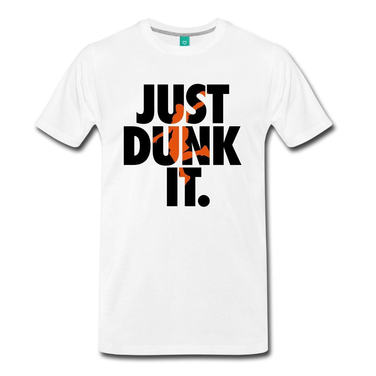 Բասկետբոլ Բասկետբոլ Just Dunk It - Տղամարդկանց հագուստ