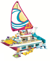Legoing Large Entertainment Speedboat 614 Building Blcok Set Brick Compatible 10760 Toys For Children Gift