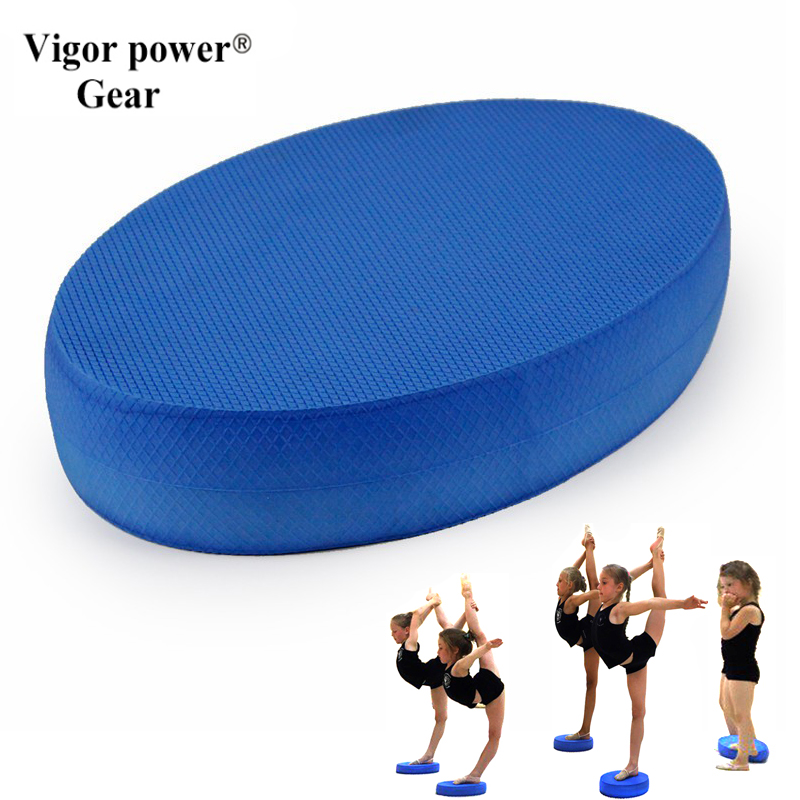 Yoga bricks Yoga Balance Pad dancing slimming Balance Pad Non-slid Yoga Cushion Soft Sta ...