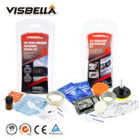 Visbella DIY Rear Window Defogger Repair Kits Fix Auto Glass Mist Broken Grid And Headlamp Restoration