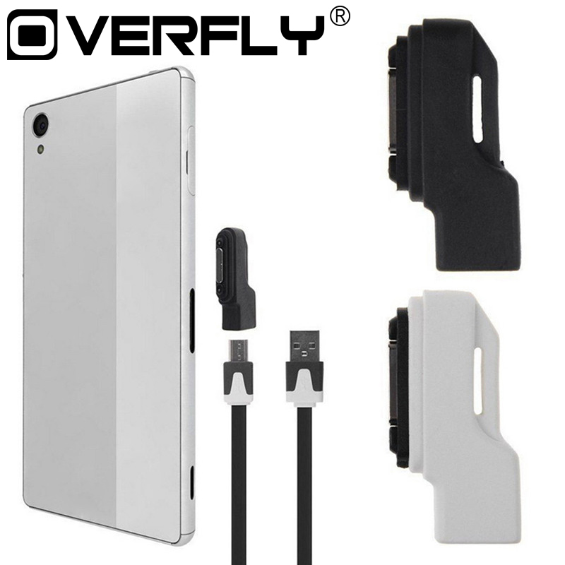 Micro USB To Magnetic Charger Adapter Portable Converter For Sony Xperia Z1 Z2 Z3 Compact Mini Micro USB Adapter Converter