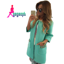 Gagaopt Women's Winter Jacket GreenYellow Pink Female Down Jacket Parka Warm Winter Long Coat Doudoune Femme Abrigos Mujer