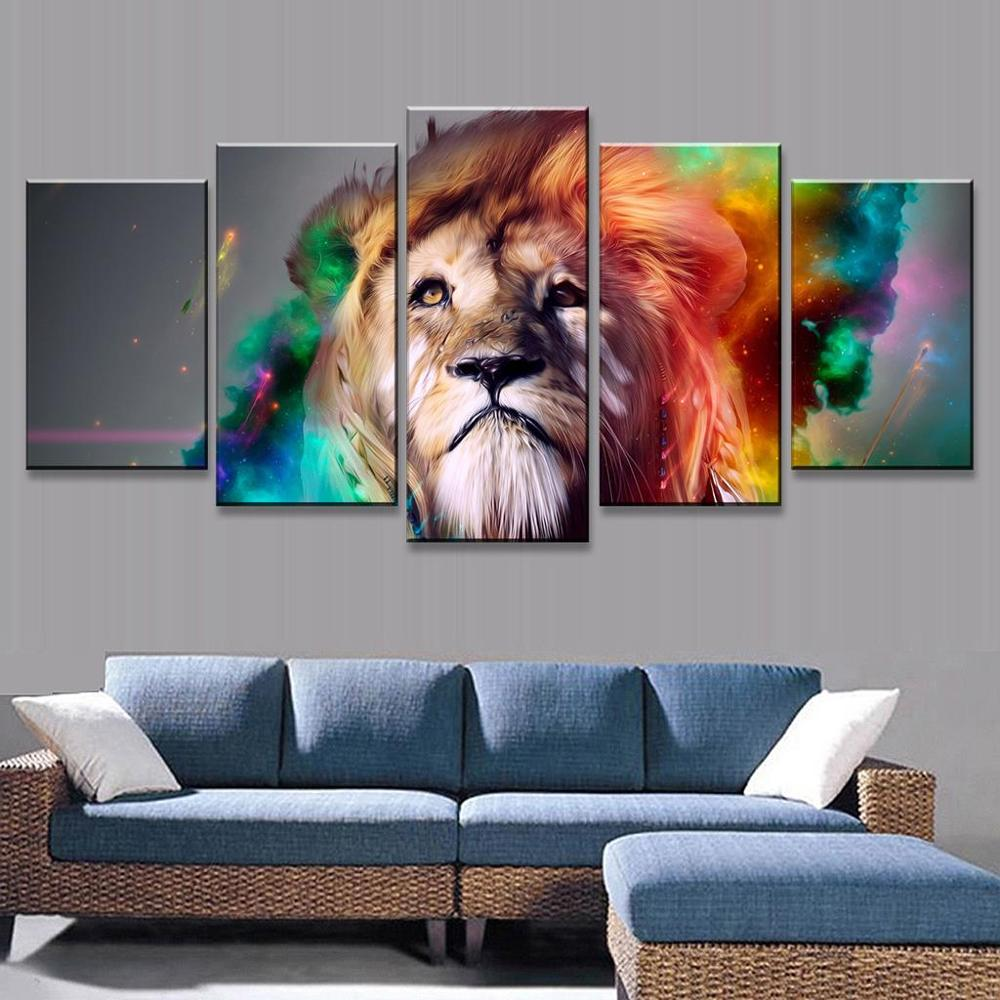 Lion In My Living Room