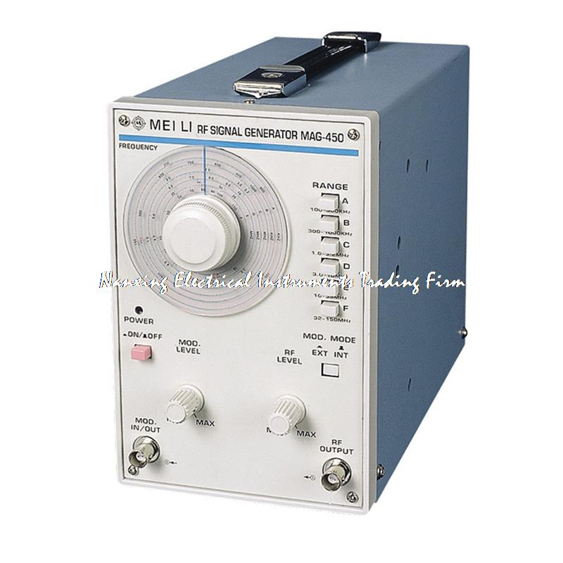 Fast arrival MAG-450 high frequency signal generator 100 KHZ - 100 MHZ signal source расходомер royal thermo коллекторный rto 52020