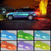 Metallic Glossy Candy Vinyl Car Wrap Film Vehicle Sticker Bubble Free
