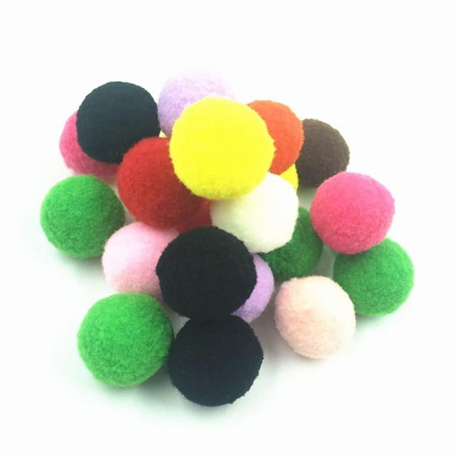 buy 1000pcs mix color pompom fluffy plush. Black Bedroom Furniture Sets. Home Design Ideas