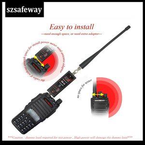 Image 3 - SW 33 Universal MINI Digital VHF/UHF Power & SWR Meter 125 525MHz SW 33 For Baofeng Walkie Talkie FM Two Way Radio