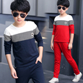 Sports Suits For Boys High Quality Cotton Children Clothing Letter T-Shirt + Pants 2Pcs Boys Clothes For Boys Kids Tracksuits