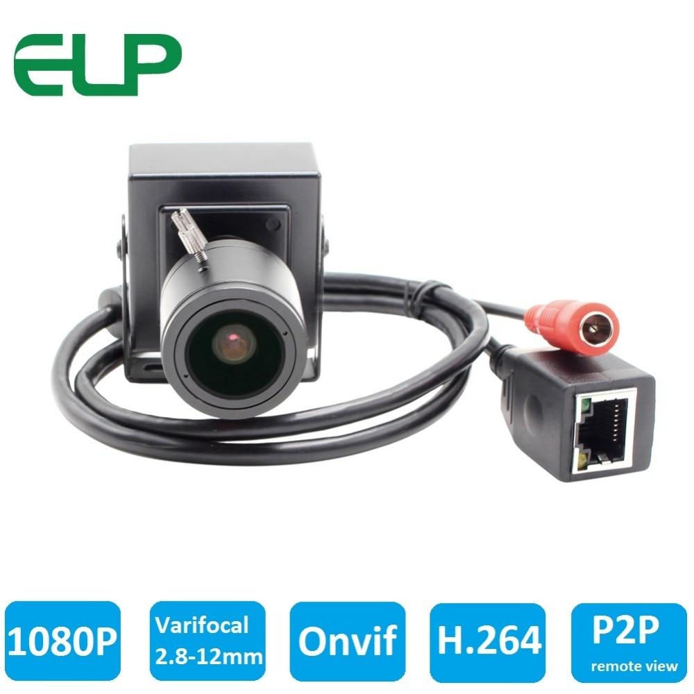 1080p 2.0 megapixel p2p H.264 onvif micro mini ip camera ELP-IP1882
