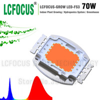 High Power 70W LED COB Chip Full Spectrum 380 840nm DIY 70W 140W 210W 280W 350W LED Grow Light Lamp Bulb Outdoor Lighting
