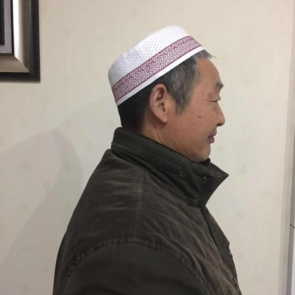 bc93d46b67f2 ... Beanies Hat; Muslim Prayer Cap Egyptian Kufi Topi Embroidered Islamic  Men's Koofi Pakistani Namaz Beanies ...