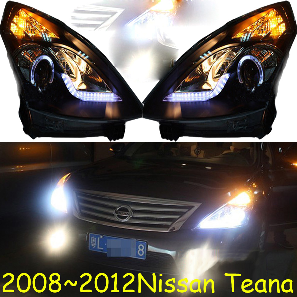 HID,2008~2012,Car Styling,Teana Headlight,Micra,Titan,versa,stanza,sentra,Tsuru,stagea,Rogue;Teana head lamp