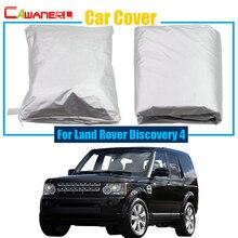 Cawanerl покрытие автомобиля дождь солнца Снег Устойчив протектор Anti UV Пылезащитная Крышка для Land Rover Discovery 4 Бесплатная доставка!