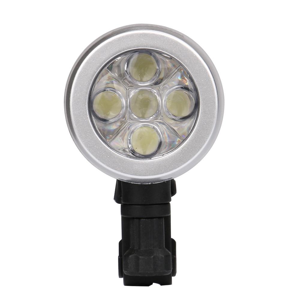 Waterproof 5 LED Light Set Bicycle Bike Front Head Light Rear Safety Night Flashlight Lamp Accessories Lampiao Montana #kj