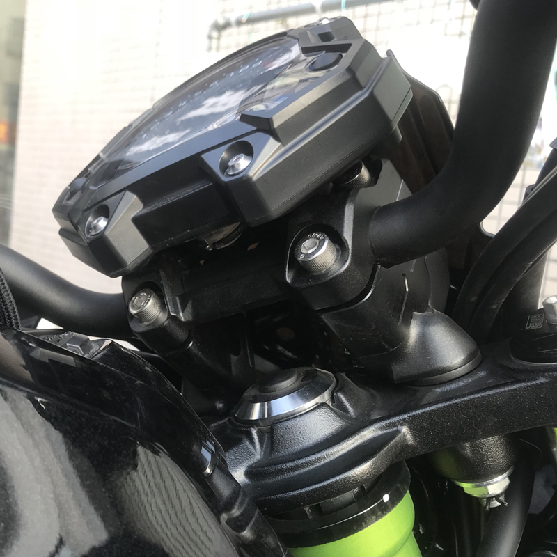 bike GP Modified fits Kawasaki ER6N ER 6F 2012 2016 handlebar risers Height up Adapters