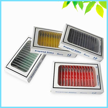 цена 48 PCS Biological Specimen Prepared Plastic Microscope Slides with 4 Boxes for Student Children Birthday Education Gift онлайн в 2017 году
