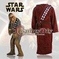 Star Wars I Am Chewie Chewbacca Robe Sleepwear Pajamas Onesie Bathrobe Adult Men Cosplay Costume