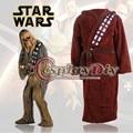 Star wars soy chewie chewbacca albornoz bata ropa de dormir pijamas onesie adultos hombres cosplay