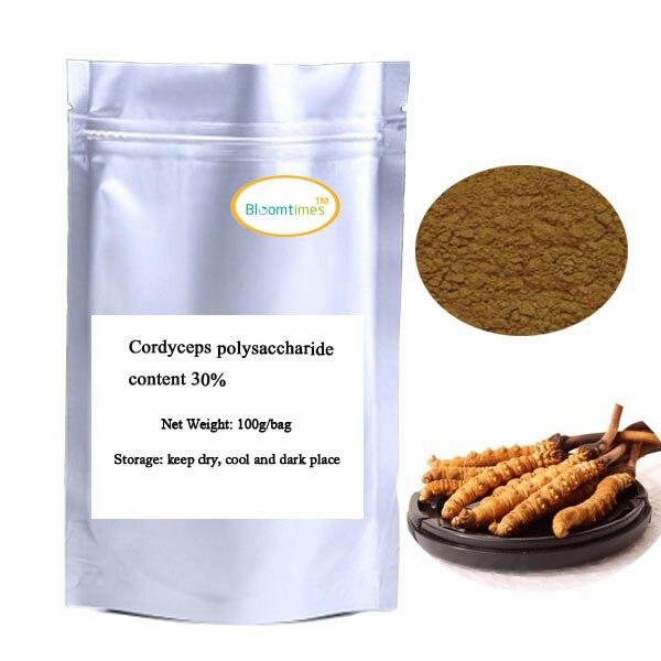 Подробнее о Free Shipping 100g Cordyceps polysaccharide content 30% free shipping 100