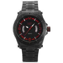 SHARK ARMY  Man  Climbing   Sports  Quartz  Water Resistant  3ATM  Tough Black Case  Mineral Glass  Date display  Watch / SAW201