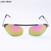 Hot New 2017 Driving Oculos Sun Glasses Fashion Men 's Uv400 Sunglasses For With Double Beam Photochromic Anti – Reflective