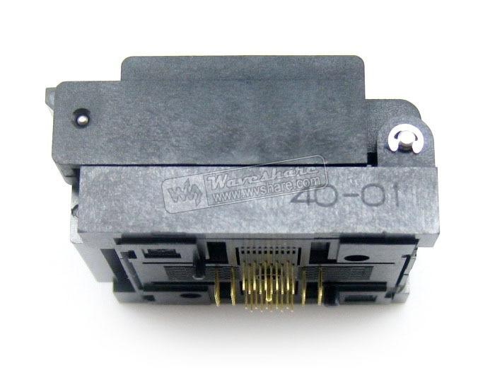 Modules Free Shipping Enplas IC Burn-in Test Socket Adapter QFN-40BT-0.5-01 0.5mm Pitch QFN40 MLP40 MLF40 package