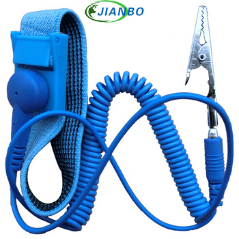 Direct Deal New Anti-Static ESD Wrist Strap Discharge Band Grounding Prevent Static Cable For Electrition IC Dust-Free Room Work anti static wrist strap gram static wrist band tester 498 anti static quick 498 grounding wire detection instrument