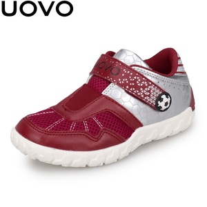 Image 2 - منتجات جديدة من UOVO لعام 2020 أحذية للأطفال مناسبة للصيف والخريف أحذية رياضية للأولاد قابلة للتنفس خفيفة الوزن مناسبة للمدرسة