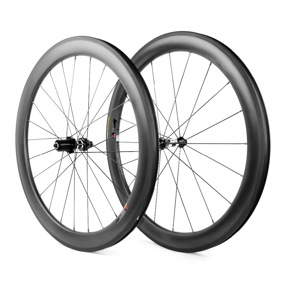 700C Road Bike Carbon Wheels 38mm Clincher Tubular full carbon Bicycle Wheelset racing bike carbon fiber wheels 4707 carbon wheels tubular clincher powerway r13 hub wheels 38mm 50mm 60mm 88mm road carbon bicycle wheels cheapest sale