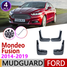 Für Ford Mondeo Fusion MK5 2014 ~ 2019 CD391 Fender Kotflügel Schlamm Klappen Schutz Splash Flap Kotflügel Zubehör 2015 2016 2017 2018