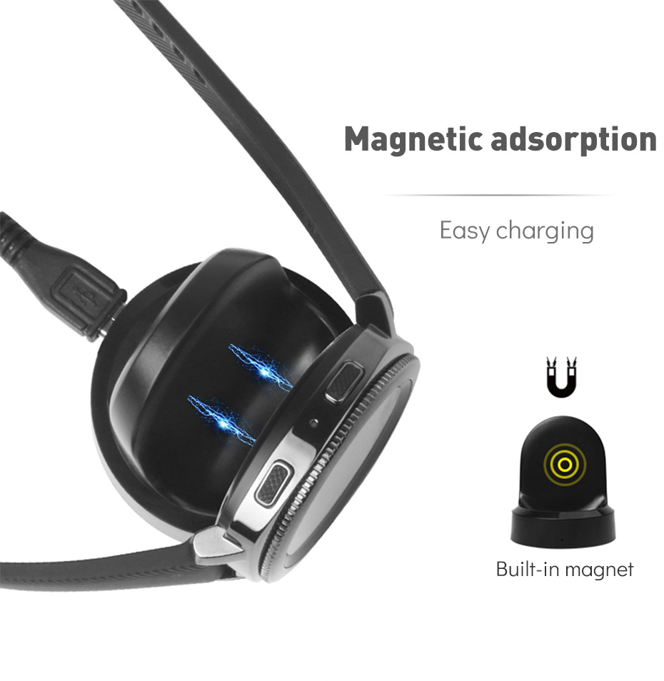 High Quality Wireless Charging Dock Charger Smart Watch Magnetic Adsorption Charging Satnd for Samsung Gear Sport Smart Watch (3)
