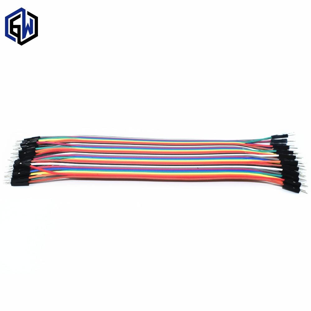400pcs dupont cable jumper wire dupont line male to male dupont line 20cm 1P diameter 2.54mm SKUGG