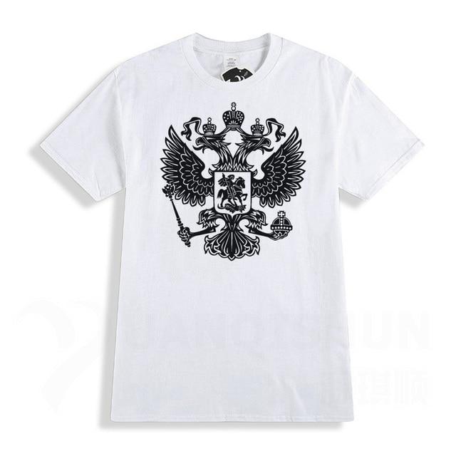 RUSSIA TShirts Eagle Flag T...