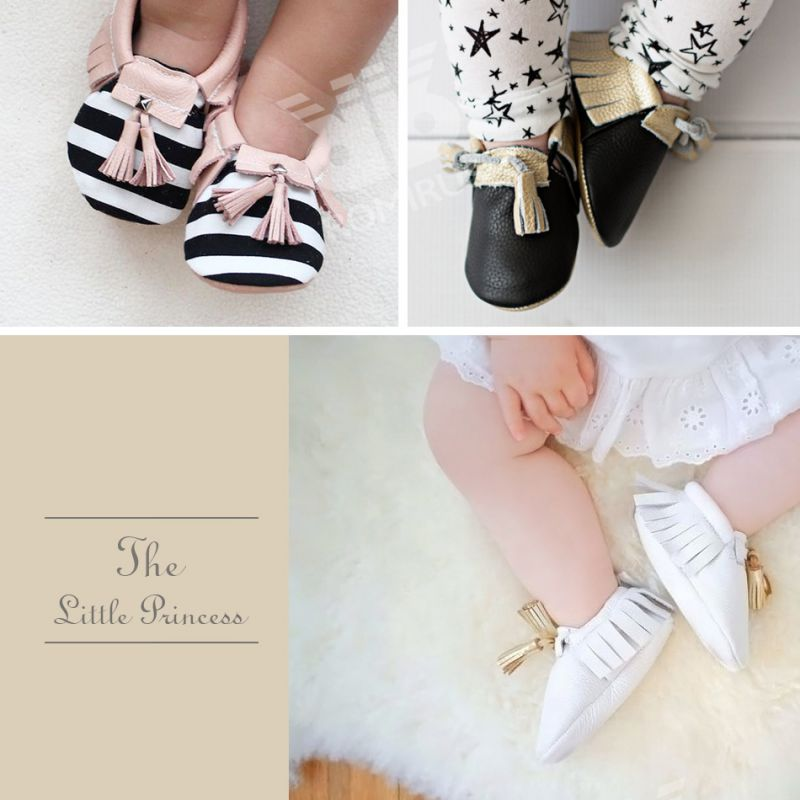 Baby Shoes Multicolor Toddler Girls Boys Crib Shoes First Walkers 2018 New Newborn Tassel Soft Soled Prewalker Sneakers 0-18M