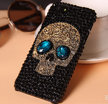 Special Design Skull Weave Diamond Design PUNK Style Phone Case for iphone 6 6S 5C 7 Plus for Samsung s7 edge S6 Note 5 S8 Plus