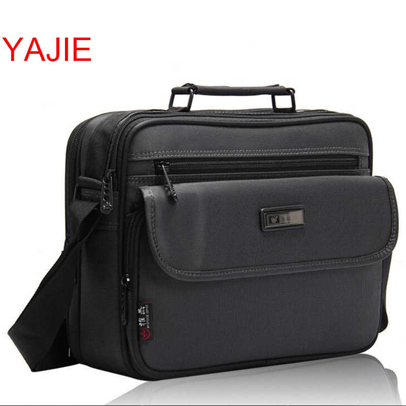 6d6b151aa YAJIE 11-16 Inch Men Bag Fashion Mens Shoulder Bags High Quality Oxford Casual  Messenger
