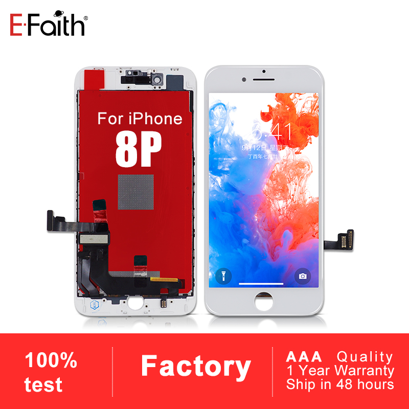 20 PCS No Dead Pixel  100% Guarantee For iPhone 8P 8 Plus LCD With 3D Touch Screen Replacement High Quality Display-in Mobile Phone LCD Screens from Cellphones & Telecommunications    1