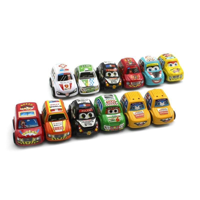 12PCs Set font b Car b font Toys Baby Children Racing Mini font b Cars b