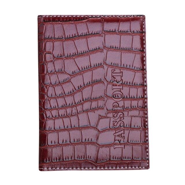 Модные Обложка для паспорта протектор женщины мужчины бумажник Бизнес карты Мягкая обложка для паспорта кожа Carteras Mujer