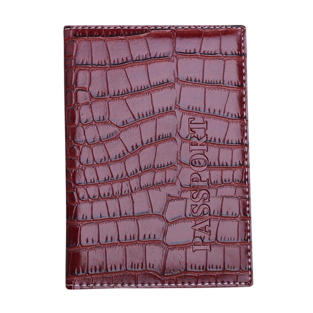 Fashion Passport Holder Protector women men Wallet Business Card Soft Passport Cover Leather Carteras Mujer new pu leather passport cover protector fashion alligator embossing travel passport case men women id credit card holder wallet