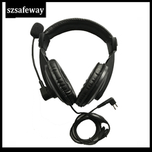 Headset Vox Two-Way-Radio CP200 Push-To-Talk GP300 with PPT And Swivel Boom-Mic for Motorola