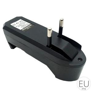 Image 3 - 18650 3.7v carregador de bateria de polímero de lítio carregador de bateria portátil única carga único slot li ion bateria inteligente carregador 0.45a