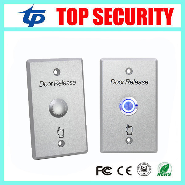 Free Shipping NO/NC/COM Door Exit Button Exit Switch For Door Access Control System Door Push Exit Door Release Button Switch lpsecurity stainless steel door access control led backlit led illuminated push button door lock release exit button switch