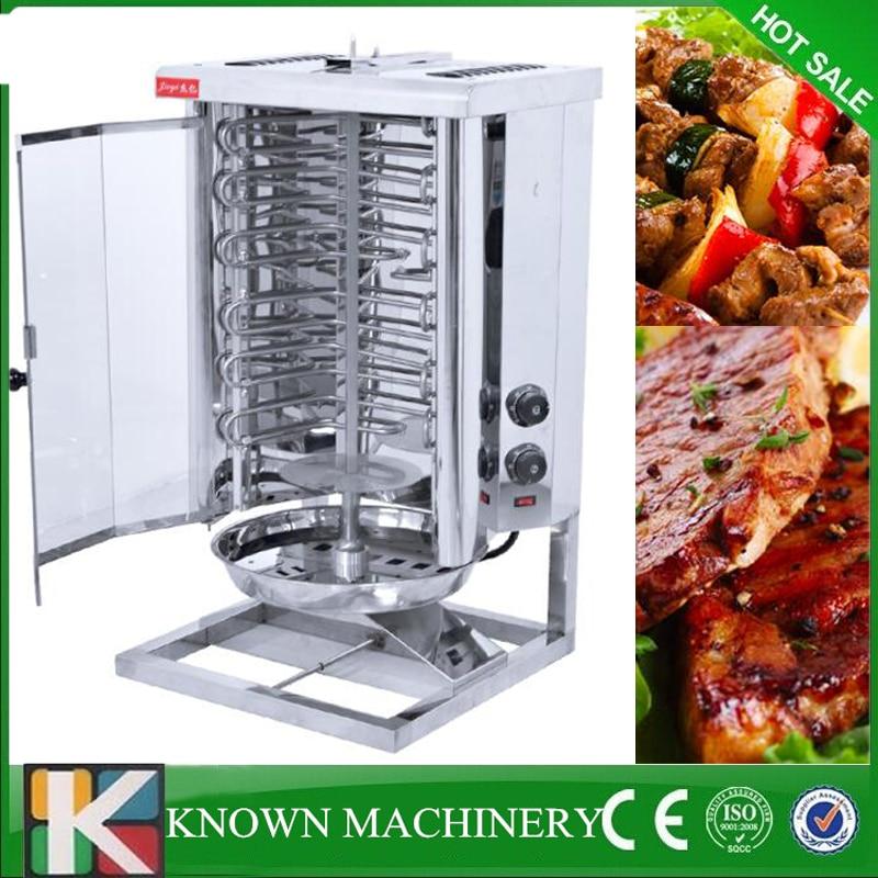 Good used Electric/Gas LPG kebab machine turkish bbq grill gas shawarma making machine 3rw3036 1ab04 22kw 400v used in good condition