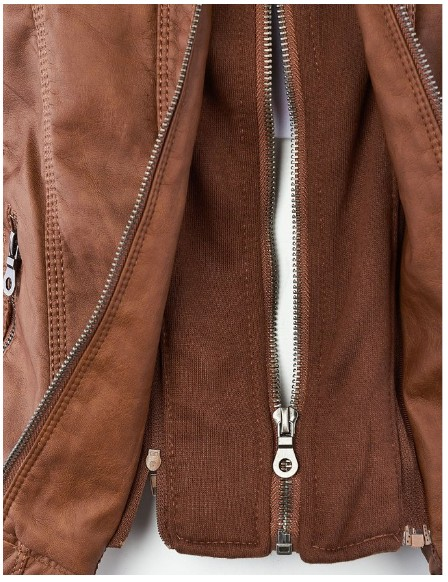 Riverdale Southside Riverdale Serpents black Brown PU Leather Jacket Women Riverdale Serpents Streetwear Leather Brand Coat 4