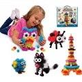 400 pcs Mega Pack Accesorios DIY Montaje de Bloques de Construcción Magnética Juguetes Educativos para Niños Bebé Niños Figuras de Acción Regalo