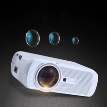 EU Portable LED HD Projector 1000 Lumens 800X480 Pixel HDMI USB Home Theater Projectors For Movie TV Game Media Player XXM