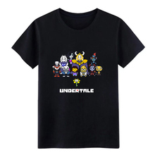 undertale sans t shirt designer 100% cotton round Neck Outfit Fit Casual Summer Style Leisure